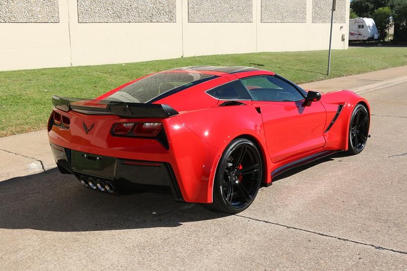 Corvette Wide Body Conversion Kit Service Dallas Texas